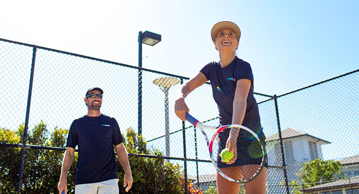 Adult Tennis Coaching at Mt Lawley Tennis Club
