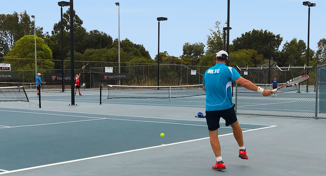 Mixed Advanced Group Tennis Coaching