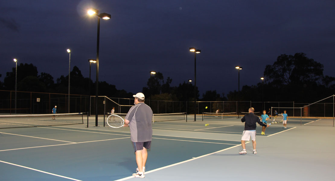 Social Night Tennis at Mt Lawley Tennis Club