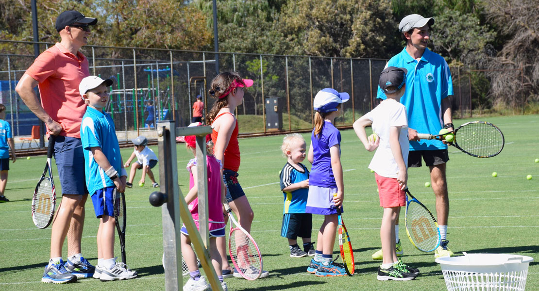 School Holiday Junior Tennis Camps at Mt Lawley Tennis Club