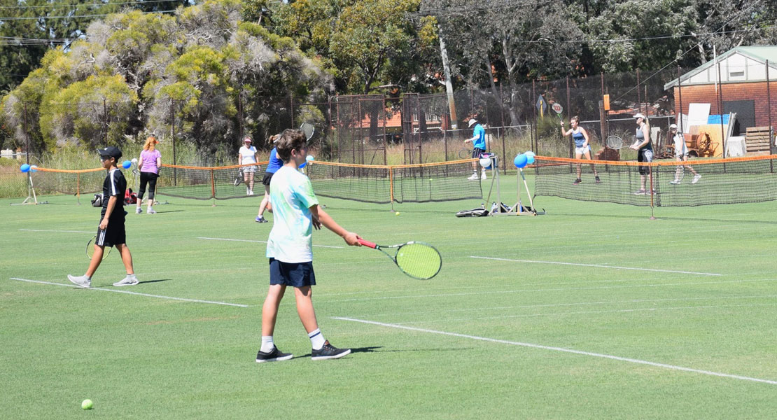 School Tennis at Mt Lawley Tennis Club