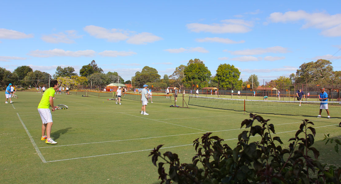 Social Organised Tennis at Mt Lawley Tennis Club