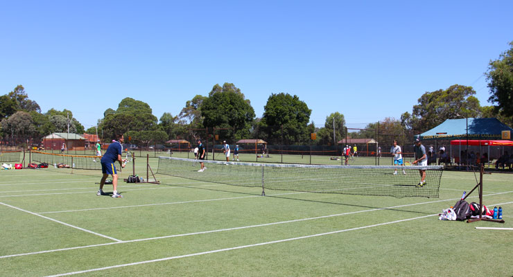 WA State Grasscourt Championships at Mt Lawley Tennis Club
