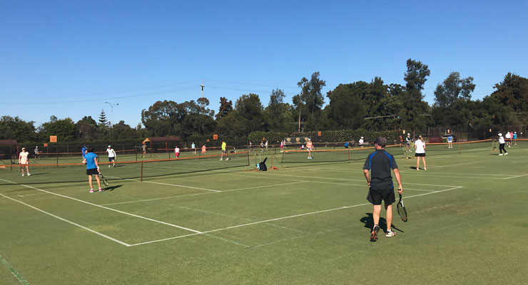 ANZAC Day Tournament at Mt Lawley Tennis Club