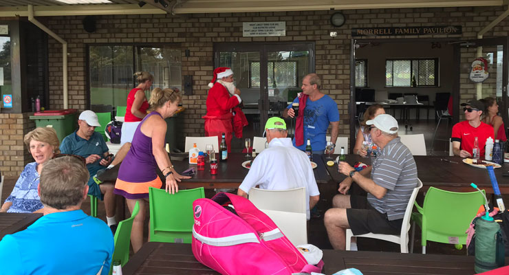 Christmas Tournament and Dinner at Mt Lawley Tennis Club