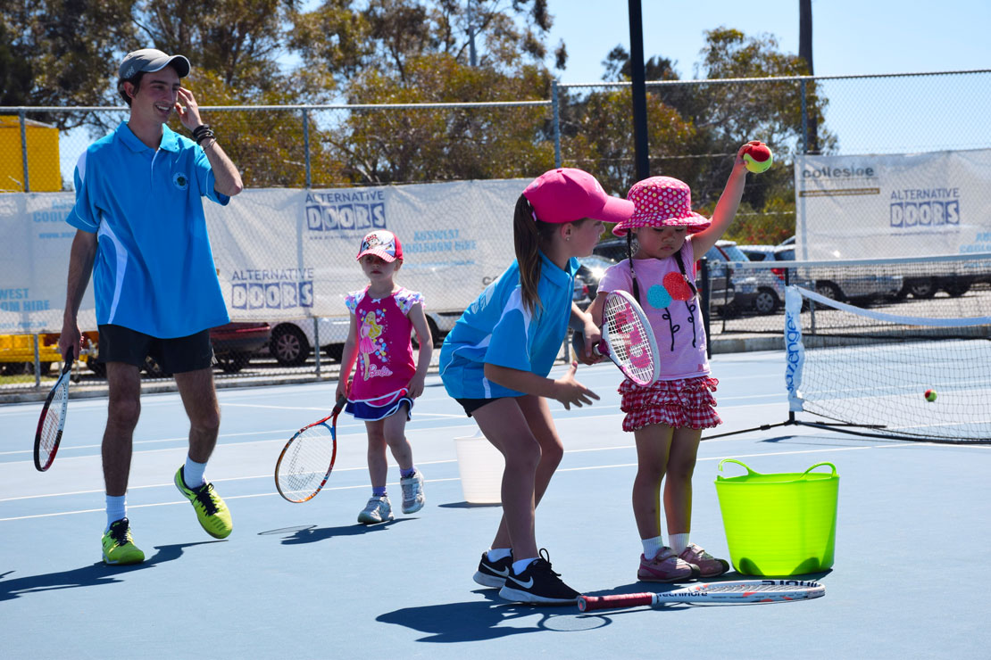 Junior Club Social Tennis at Mt Lawley Tennis Club