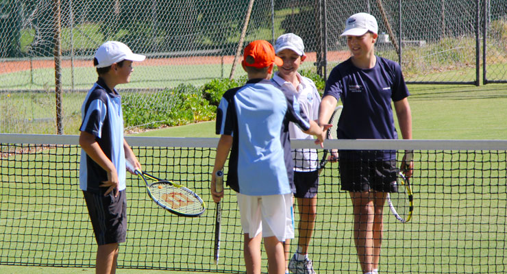 Junior Tennis League at Mt Lawley Tennis Club