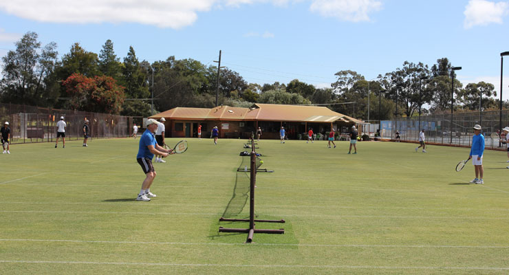 Social Organised Tennis at Mt Lawley Tennis Club