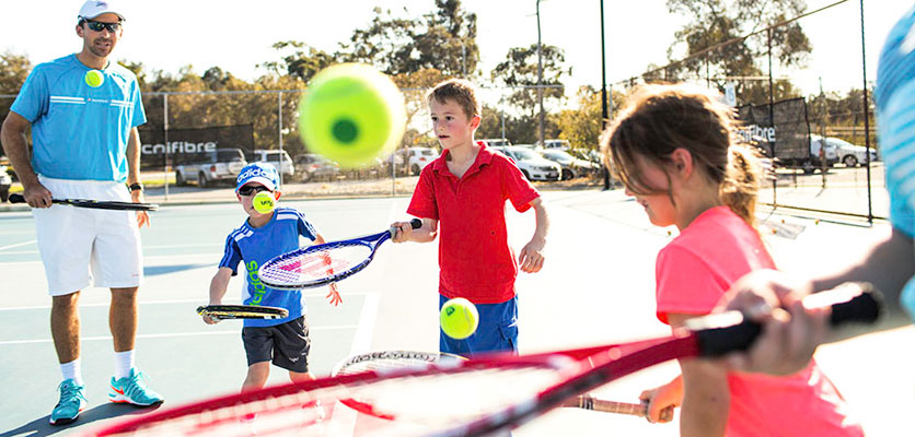 Tennis Coaching with Playtennis at Mt Lawley Tennis Club