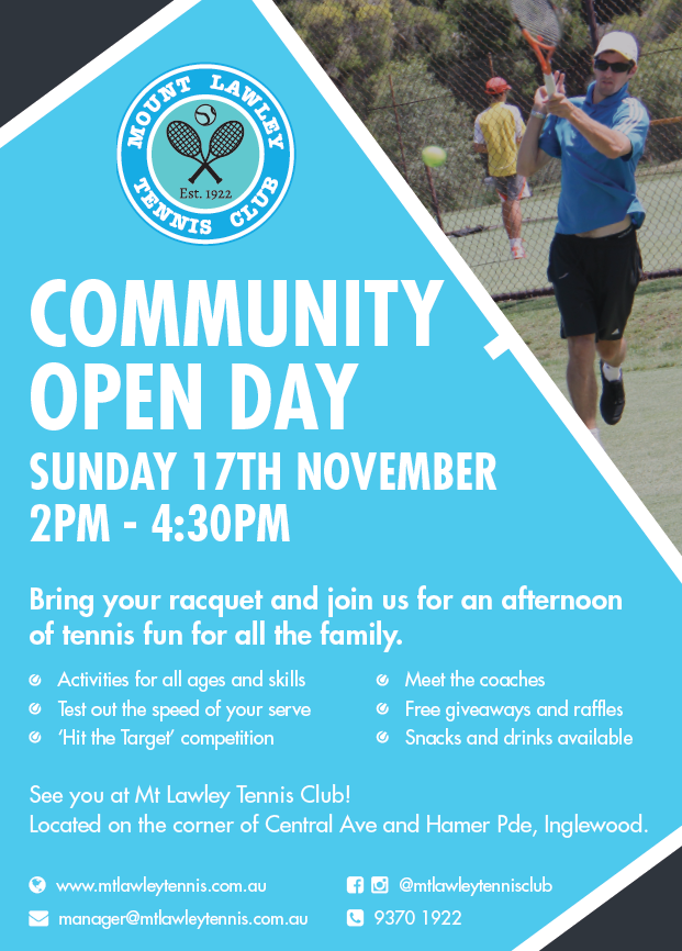 Community Open Day 2019