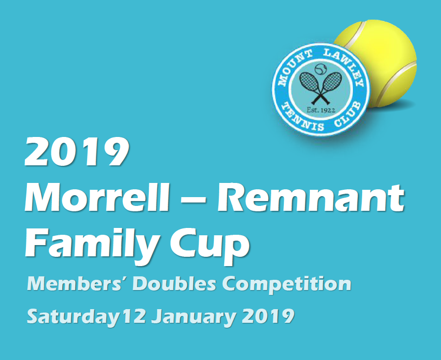 Morrell-Remnant Family Cup 2019