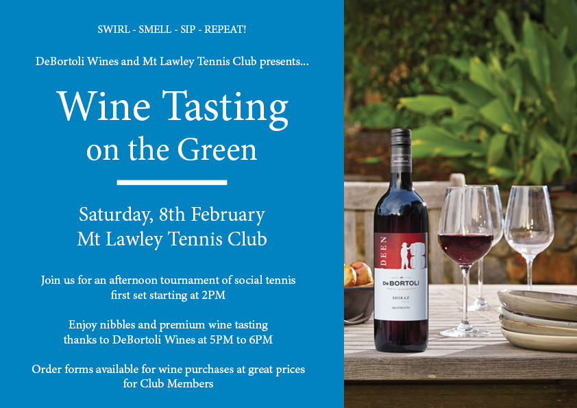 Wine Tasting on the Green
